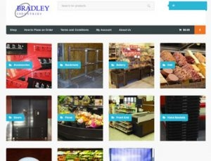 Bradley Industries eCommerce site by Spencer Web Design