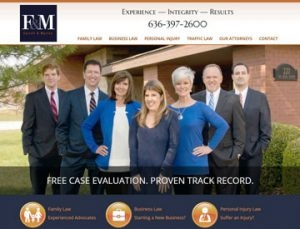 Farrell and Martin Attorneys at Law 2017 website