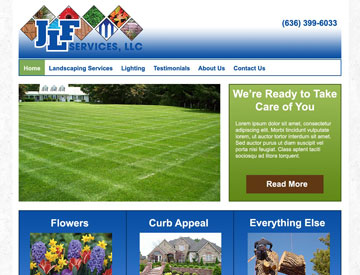 JLF Services Website by Spencer Web Design, Inc.