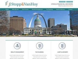 Stopp Van Hoy Website by Spencer Web Design